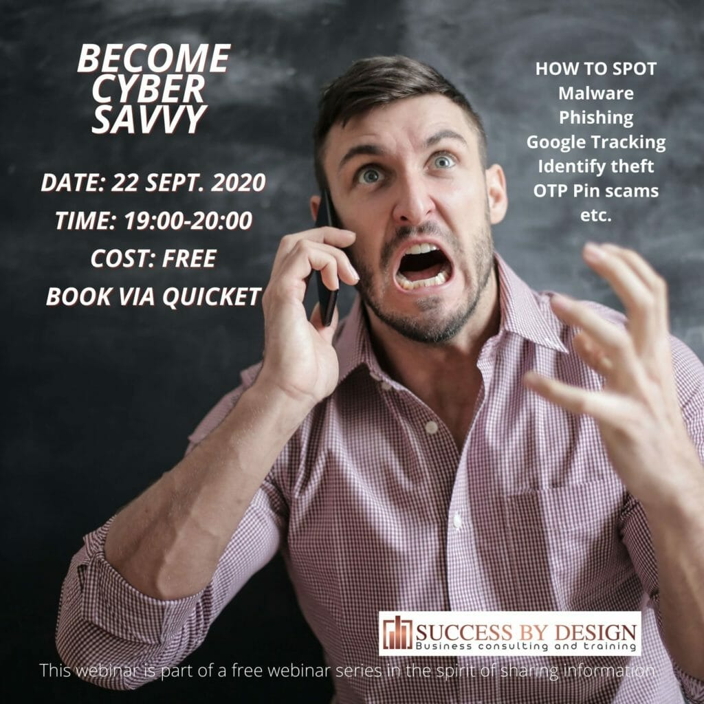 Become Cyber Savvy At Success By Design we design strategies for business success