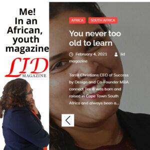You are never too old to learn my article, my Lid magazine article 4 Feb 2021